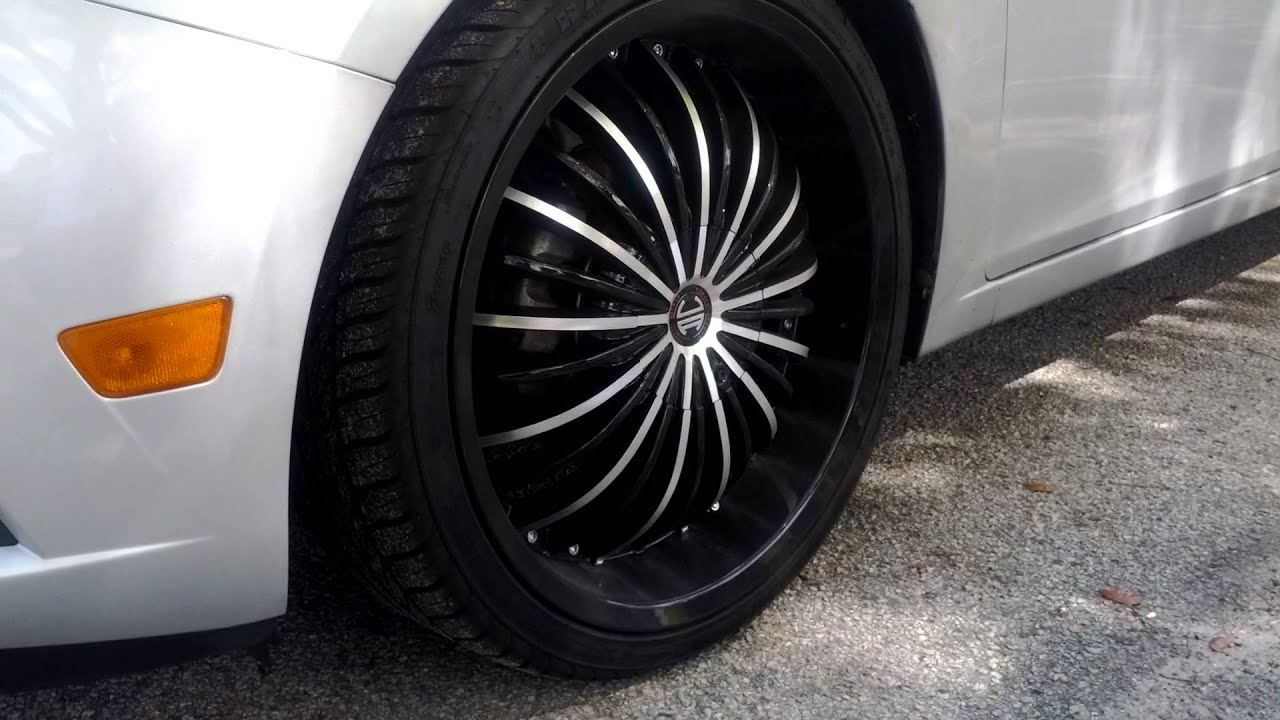 "2011 Chevy Cruze 20"" rims - YouTube"