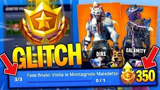 NEW GLITCH LIVELLO 100 PASS BATTLE ! FATE BEFORE THE TOLGANO FORTNITE ITA