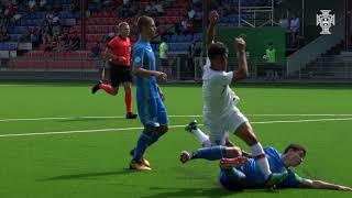 SN Sub-19: Portugal venceu por 5-0 a Ucrânia e está na final do Europeu