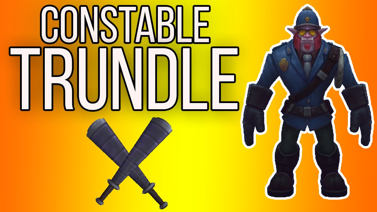 Constable Trundle | Skin Spotlight [GER][HD] - YouTube
