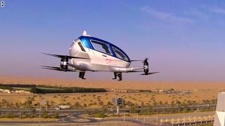 أول مركبة جوية ذاتية القيادة تحلق في دبي