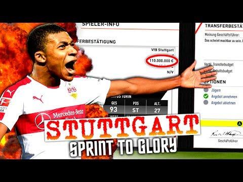 FIFA 17 : EINE MILLIARDE EURO TRANSFERS ZUM TITEL !!! 💥💥💥 VfB STUTTGART SPRINT TO GLORY KARRIERE