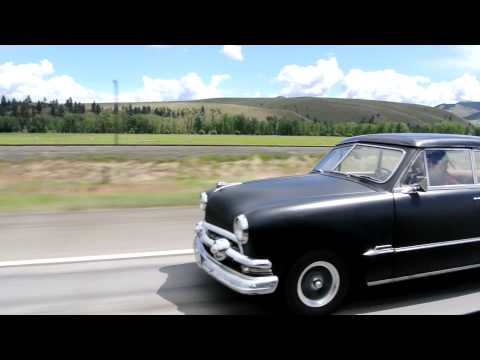 Old 49 50 51 Ford Crown Victoria Vic Coupe Driving Classic Oldtimer Quickie Mercury COBRA