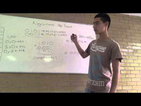 Algoritmo de Booth (Explicación)