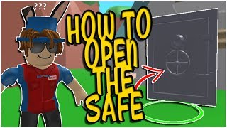 HOW TO OPEN THE SECRET MYTHICAL NPC SAFE IN ROBLOX MINING SIMULATOR