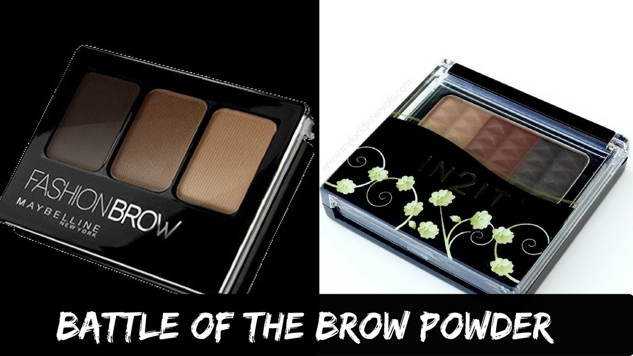 Maybelline Fashion Brow 3d Eyebrow And Nose Palette Vs In2it