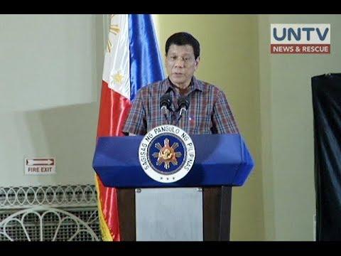Pagpapalawig ng martial law sa Mindanao, pormal nang hiniling ni Duterte sa Kongreso