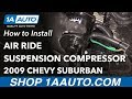 How to Replace Air Ride Suspension Compressor 07-14 Chevy Suburban
