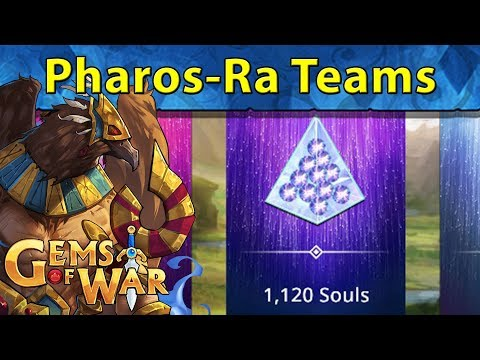 Gems of War: Pharos-Ra Soulforge | Best Use of Diamonds and Best Soul Gaining Methods Per Hour