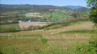 De Lucey à Jongieux, sentiers de balcons en galets