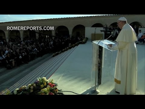 "Pope Francis in Assisi: ""Peace alone, and not war, is holy!"""