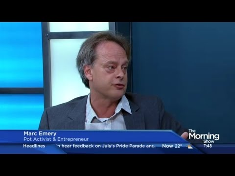 """Prince of Pot"" Marc Emery​ on the future of marijuana legalization in Canada"