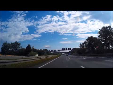 Euro Road Trip Amsterdam to Berlin 06 07 2014 Driving at 125 MPH
