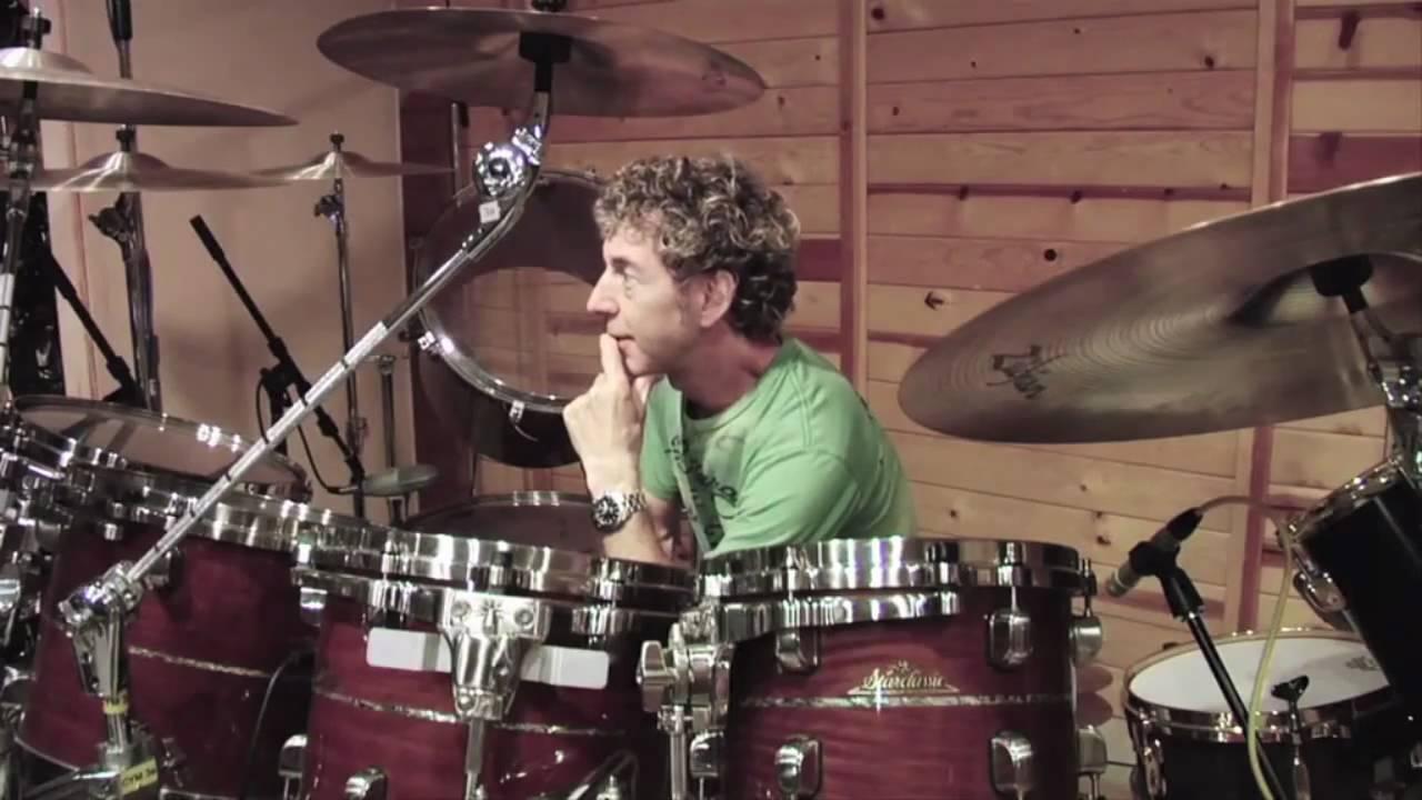 Simon Phillips, studio tips and tricks