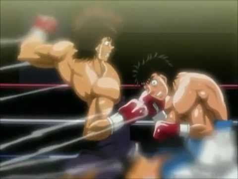 Sendo's Last Smasher vs Ippo - Champion Road