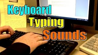 Keyboard typing Sounds - ASMR