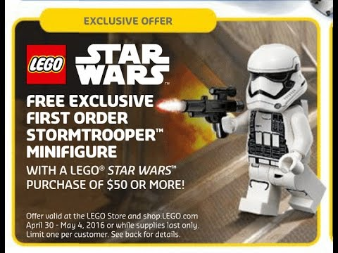 Lego Exclusive May 4th Star Wars Polybag 30602 First Order Stormtrooper Pictures