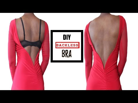 How To Make A Backless Bra (For All Boob Sizes!) thumbnail