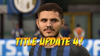 FIFA 19 Title Update 4 -  New Player Faces!  AI Defending Nerfed, Pressure Nerfed ,  Tackling Fixed!