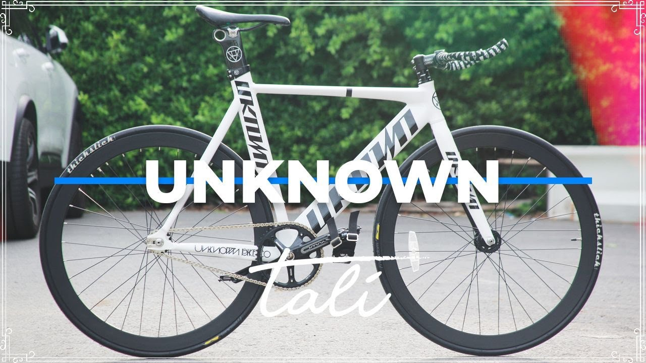 DREAM BUILD FIXED GEAR - SINGULARITY 2 - UNKNOWN BIKES // TALI Bike