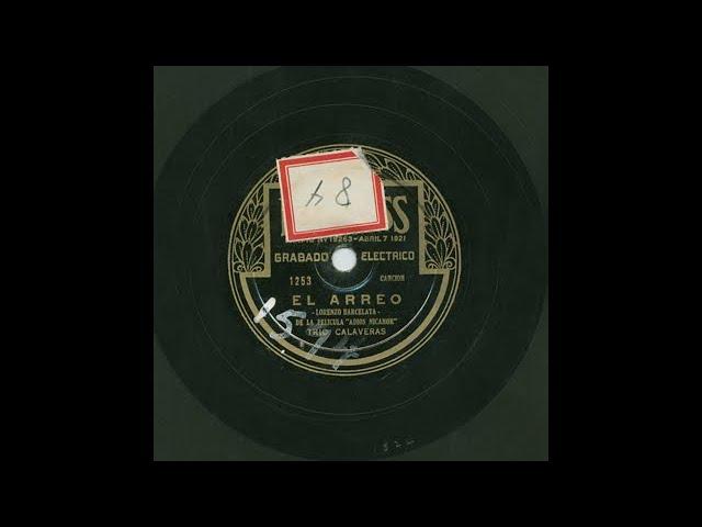 Trio Calaveras - El Arreo - Peerless 1253