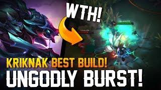 Strike of Kings Builds: THE UNGODLY BURST!! |Best Kriknak Build|