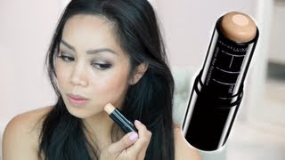 NEW Maybelline Fit Me Foundation Stick Demo / first impression - itsjudytime