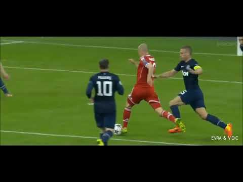 Arjen Robben Best Skills & Runs vs Great Players