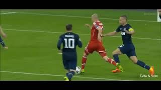 vuclip Arjen Robben Best Skills & Runs vs Great Players