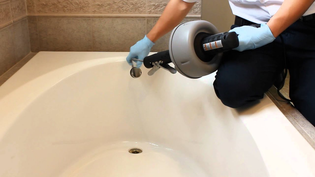 Benjamin Franklin Plumbing - Clogged Tub: 4 Steps To Unlcog A Tub ...