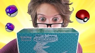 Opening a Pokemon Crimson Invasion Elite Trainer Box!