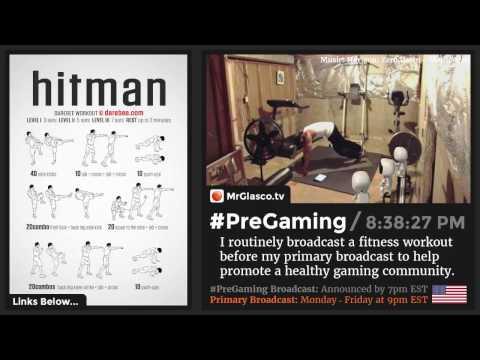#PreGaming: DAREBEE Hitman Workout 💪