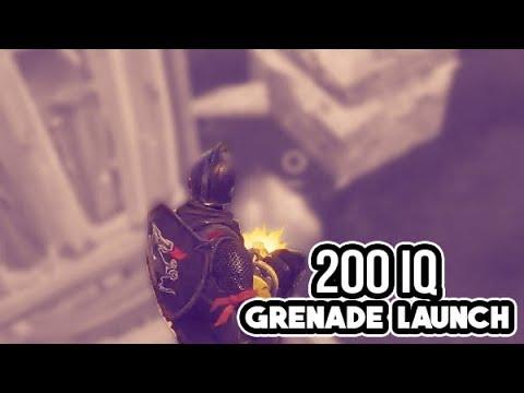 200 IQ Grenade Launcher Shot!! (Fortnite Rank #1 Battle Royale)