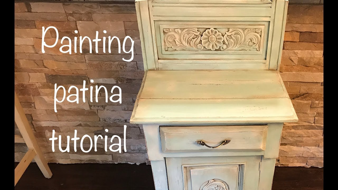 How to distress paint patina furniture with chalk paint and dark wax - How To Distress Paint Patina Furniture With Chalk Paint And Dark Wax