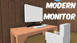How To Make A Modern Monitor! Roblox Lumber Tycoon 2