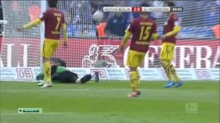 Schulz Goal vs Paderborn