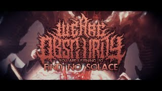 WE ARE OBSCURITY - FIND NO SOLACE [OFFICIAL LYRIC VIDEO] (2019) SW EXCLUSIVE
