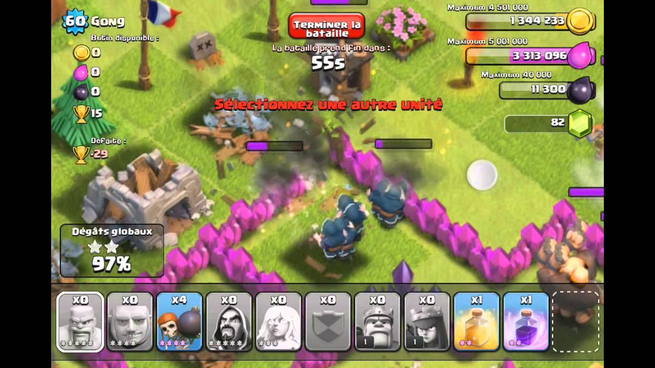 Clash Of Clan Sorcier Lvl 5 Carnage 720 P Oblige