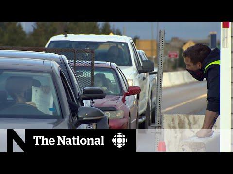 Nova Scotia tightens border to restrict non-essential travel