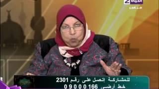 سعاد صالح: ليس كل الرجال شياطين وكل النساء ملائكة.. (فيديو)