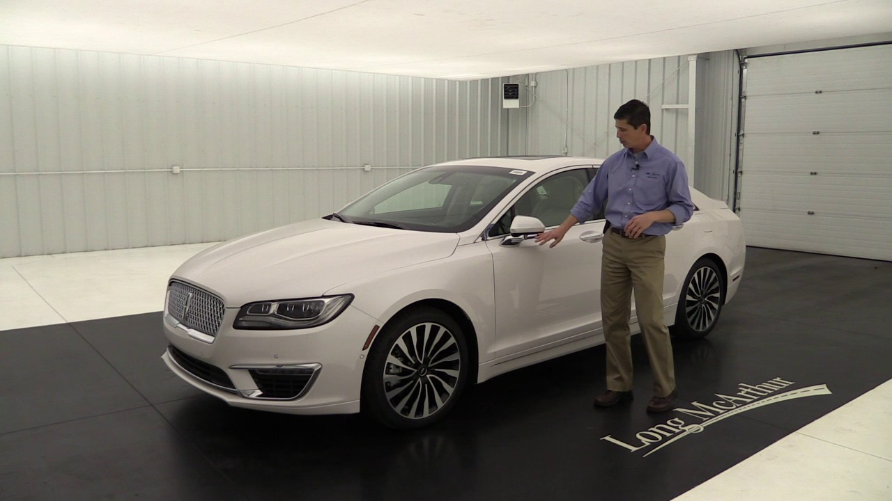 2017 Lincoln Mkz Black Label Chalet Awd 17067