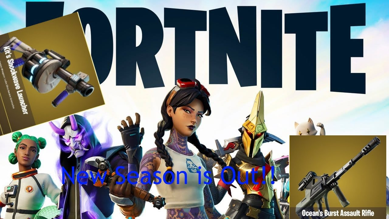 Fortnite New Season is out!!!  (Very Epic)