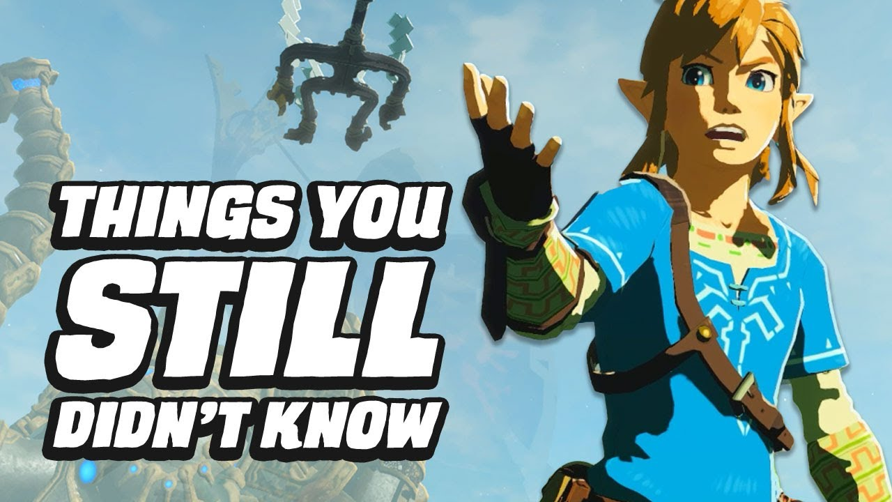 Download 48 Things You STILL Didn't Know In Zelda Breath Of The Wild