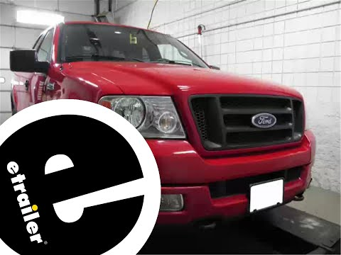 Etrailer | Trailer Wiring Harness Installation - 2004 Ford F-150