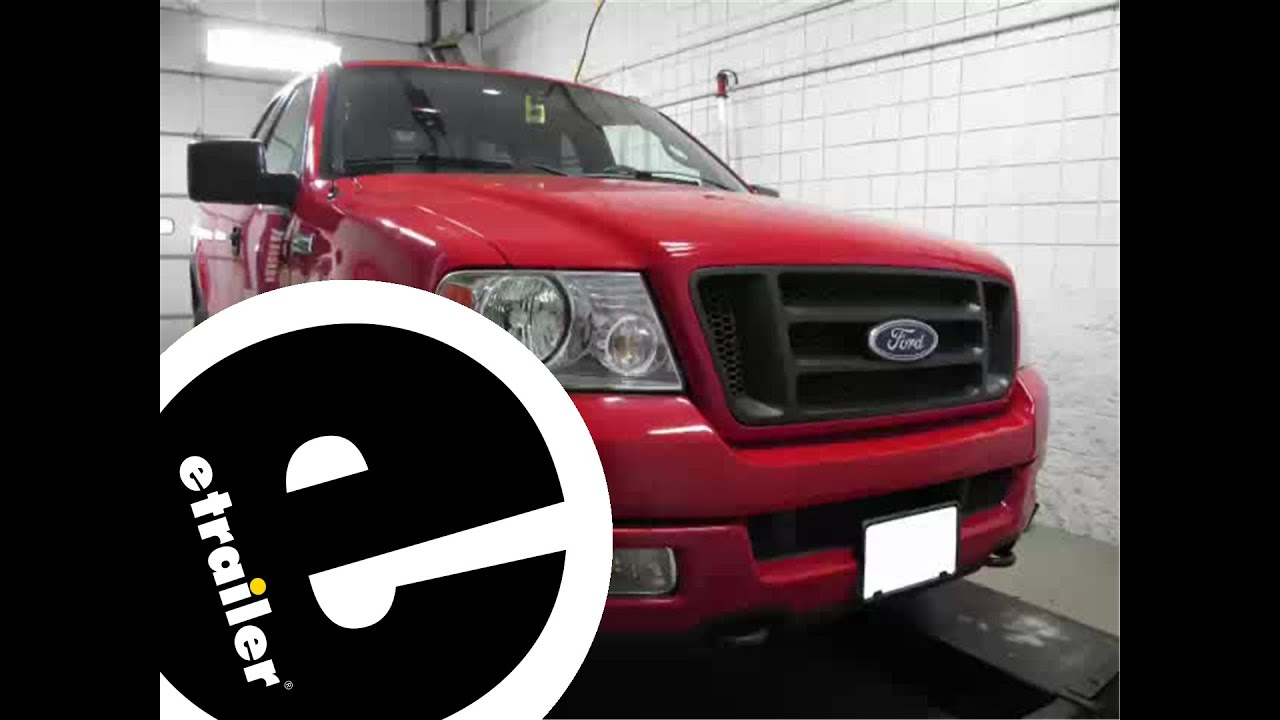 2015 Ford F350 Wiring Diagram Installation Of A Trailer Wiring Harness On A 2004 Ford F