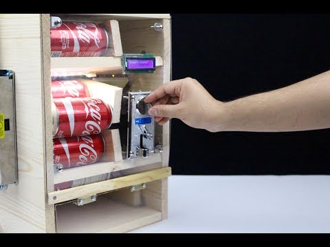 How to Make Cola Vending Machine at Home
