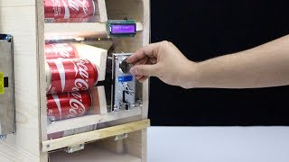 How to Make Cola Vending Machine at Home - DIY