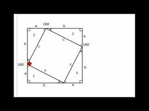 pythagoras sætning bevis