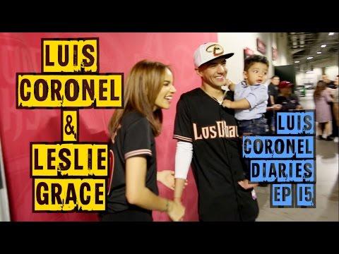 LUIS CORONEL Y LESLIE GRACE JUNTOS - Luis Coronel Diaries Ep.15