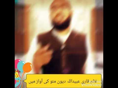 Naat qari Ubaidullah dewan mao